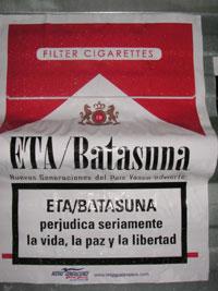 Documento interno de Batasuna.