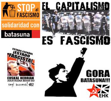 Asociaciones de Víctimas del terrorismo piden a la Fiscalía que prohíba la manifestación de Batasuna