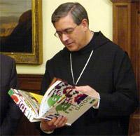 El ABAD de MONTSERRAT 'COLABORA' en la ESTRATEGIA de POLANCO y del PSOE de DIVIDIR a la IGLESIA