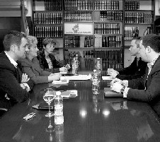 La «mesa de partidos» se constituirá este mes para hablar de Navarra y autodeterminación