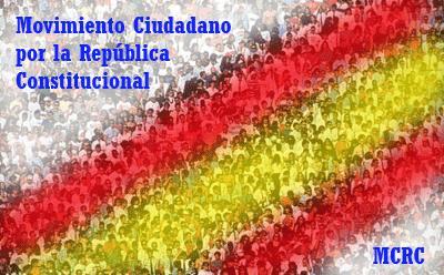 """Declaración de principios y valores del """"Movimiento de Ciudadanos hacia la República Constitucional (MCRC)."""
