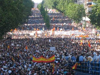 La AVT convoca a toda la ciudadanía a una gran manifestación en Madrid el sábado 25 de noviembre a las 17:00 horas