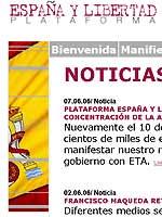 España y Libertad se suma a las concentraciones que pedirán la verdad sobre el 11 m el próximo sábado