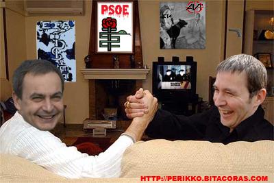 Los dirigentes del PSE atacan a la AVT mientras están orgullosos de pactar con los terroristas