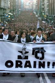 ETA elige Orain para presentarse a las elecciones