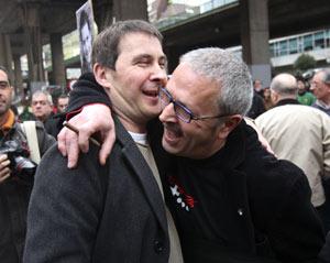 """Olano y el núcleo duro de Batasuna-ETA dicen que la negociación """"está a punto de hundirse"""""""