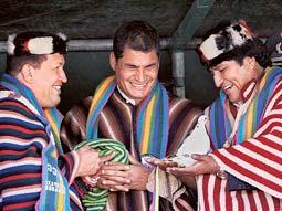 Ecuador se bolivarianiza