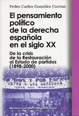 NO SE ATREVE A ROMPER CON EL CONSENSO SOCIALDEMÓCRATA. El drama de la derecha en España