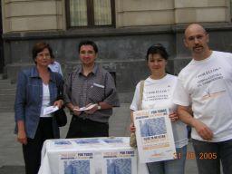 Mañana martes, homenaje de la AVT a las victimas del terrorismo en Zaragoza