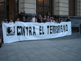 II JORNADAS DE SOLIDARIDAD CON LAS VICTIMAS DEL TERRORISMO, CIUDAD DE ZARAGOZA 2007
