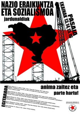"""El proyecto socialista, """"la ley de hierro del siglo XX"""" y el futuro. ¿Socialismo en Euskadi?"""