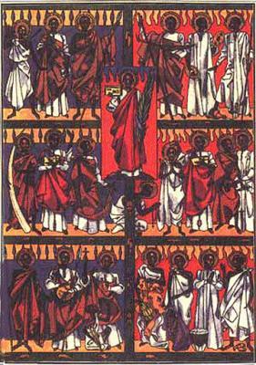 Quemados y desmembrados por un rey homosexual