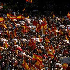 """Foro El Salvador se adhiere a la concentración convocada, mañana sábado 10 de marzo de 2007 en Madrid, bajo el lema """"España por la Libertad. No más cesiones a ETA""""."""
