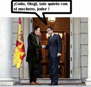 """Zapatero: """"¿Qué problema hay con que un ciudadano sea vasco navarro?"""""""