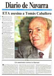 La Fundación Tomás Caballero recuerda el ejemplo de las víctimas