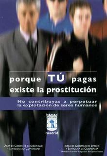 Las diputadas no quieren legalizar la prostitución, pero tampoco dignificar el sexo