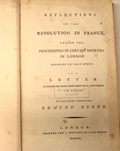 Por qué se estudia a Edmund Burke