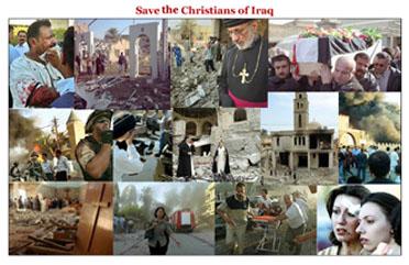 Terroristas saquean y se apoderan de un convento en Bagdad