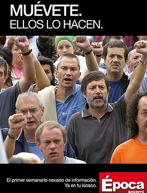 Una lectura política de la desaparición de Época Navarra.