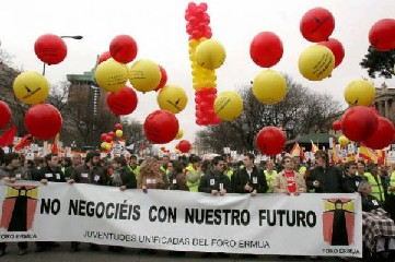 Foro Ermua apoya la manifestación convocada por AVT para el sábado 24 de noviembre de 2007 a las 17'00 h. en Madrid bajo el lema POR UN FUTURO EN LIBERTAD.  JUNTOS, DERROTEMOS A ETA.