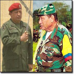 La relación de Chávez con las FARC