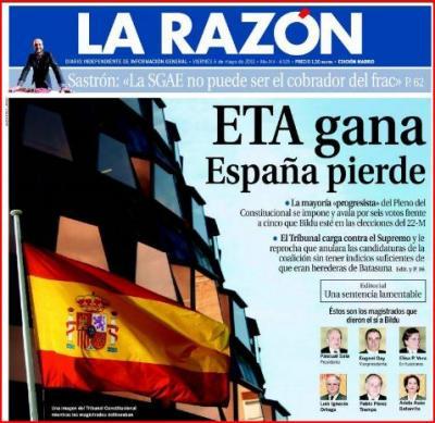La Reinserción individualizada; ETA gana  (Sevilla nuestra; por Javier Cortes Lucena)