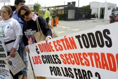 Colombia: las víctimas de las FARC reclaman justicia